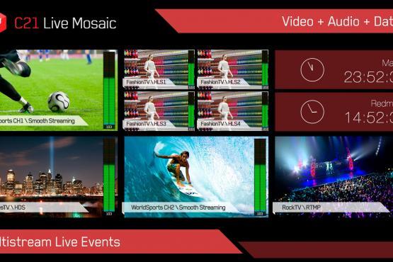 C21 Live Mosaic layout