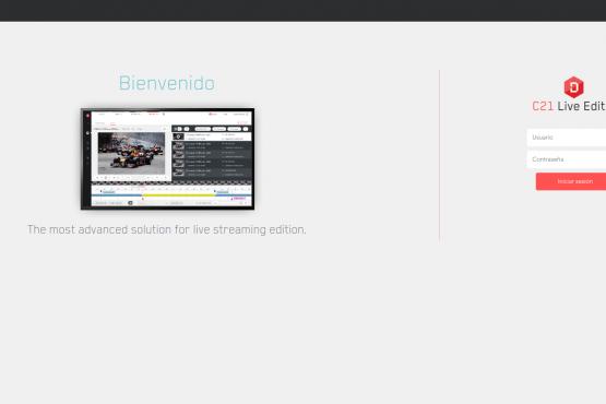 C21 Live Editor login