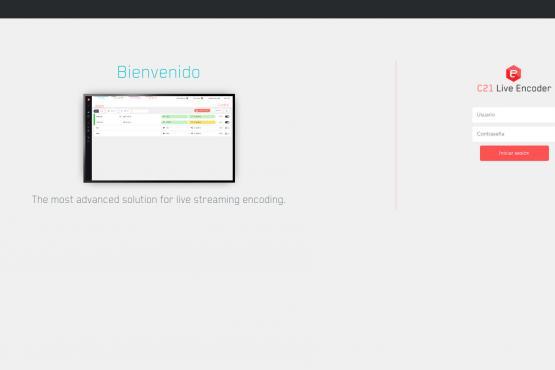 inicio live encoder