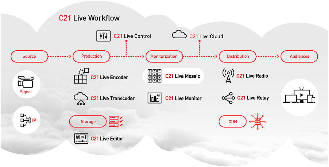 Workflow Cires21 Live Mosaic